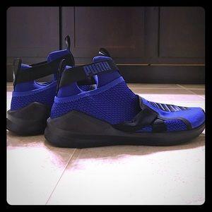 Puma shoes.